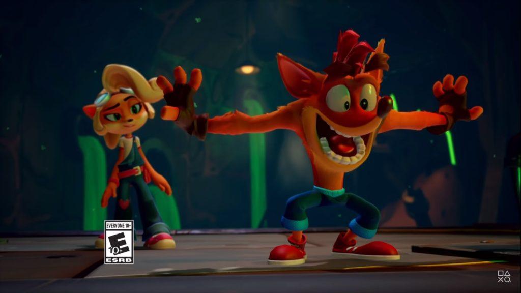 Crash Bandicoot 4: It's About Time é anúncio esperado para o PS4