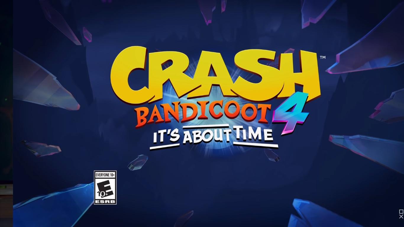 Crash Bandicoot 4 it's about time gamescom