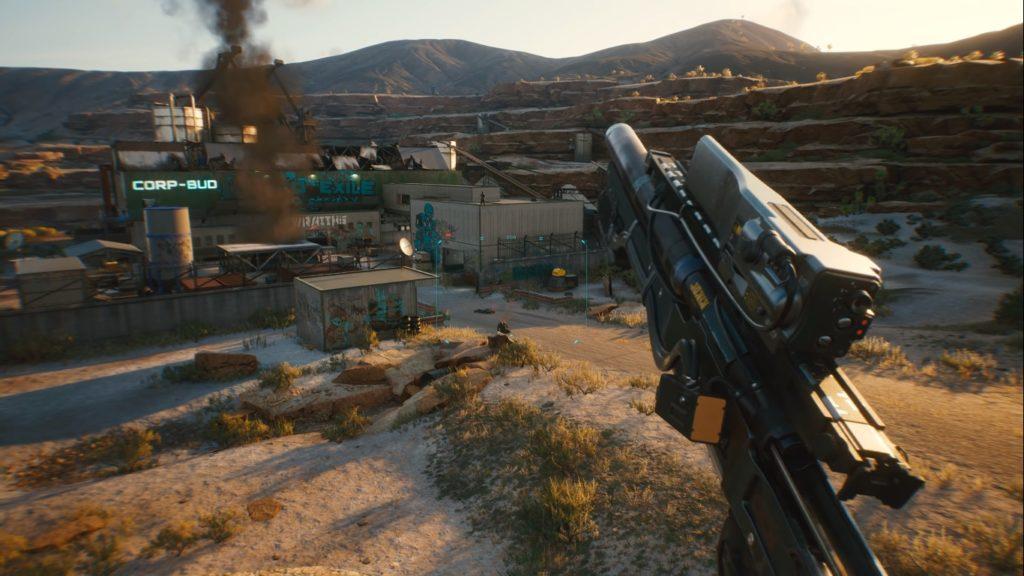 Cyberpunk 2077 contará com variadas opções de armas