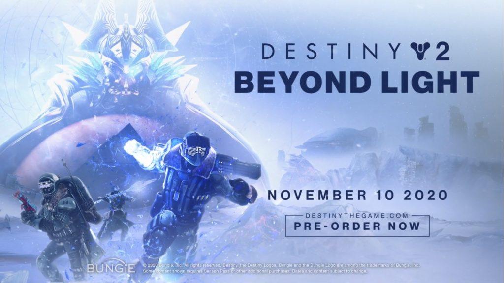 Destiny 2: Beyond Light deve chegar em novembro