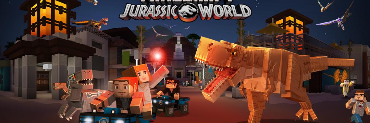 Minecraft ganha conteúdo de Jurassic Park