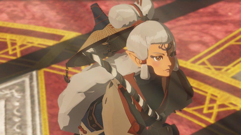A imagem do trailer de Hyrule Warriors: Age of Calamity mostra a personagem Impa bem mais jovem do que os jogadores se lembram.