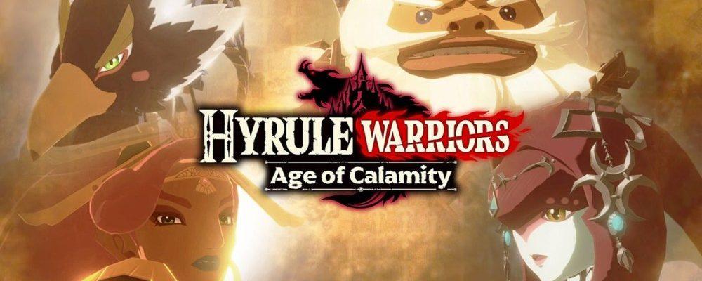 Os Quatro Campeões de Hyrule Warriors: Age of Calamity