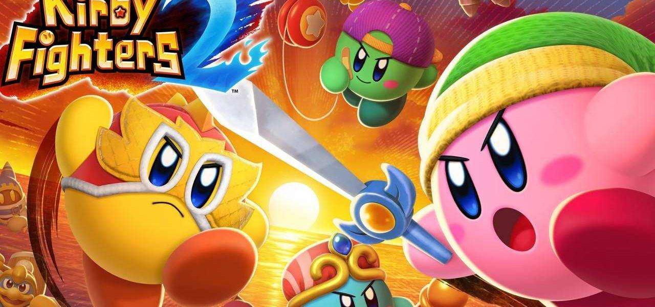 As habilidades de cópia de Kirby se enfrentam em Kirby Fighters 2