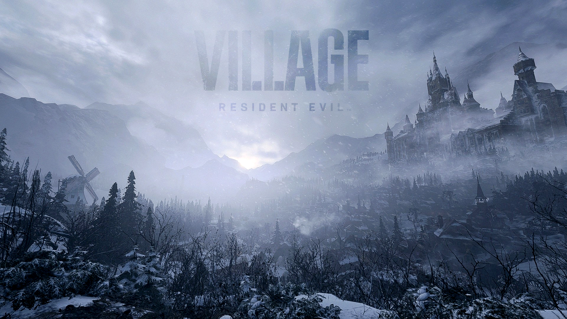 Cenário Resident Evil Village