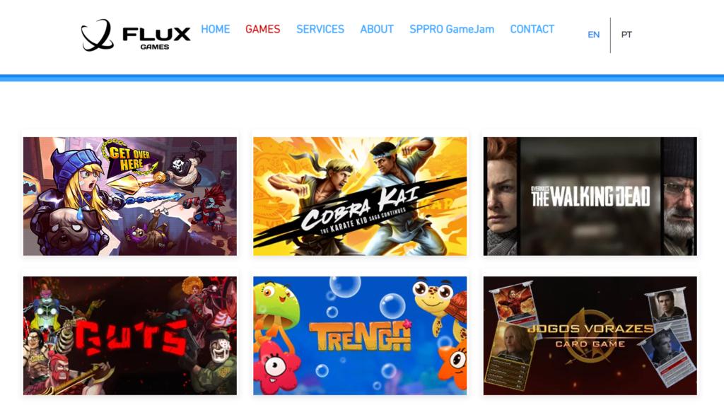 Jogos da Flux Games