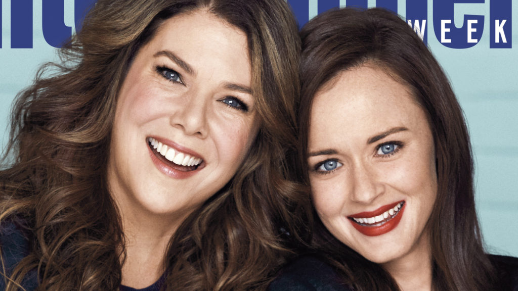 As Gilmore Girls da vida real, Lauren Grahan e Alexis Bledel.