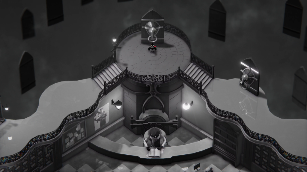 O Comitê dos Ceifadores funciona como um hub em Death's Door