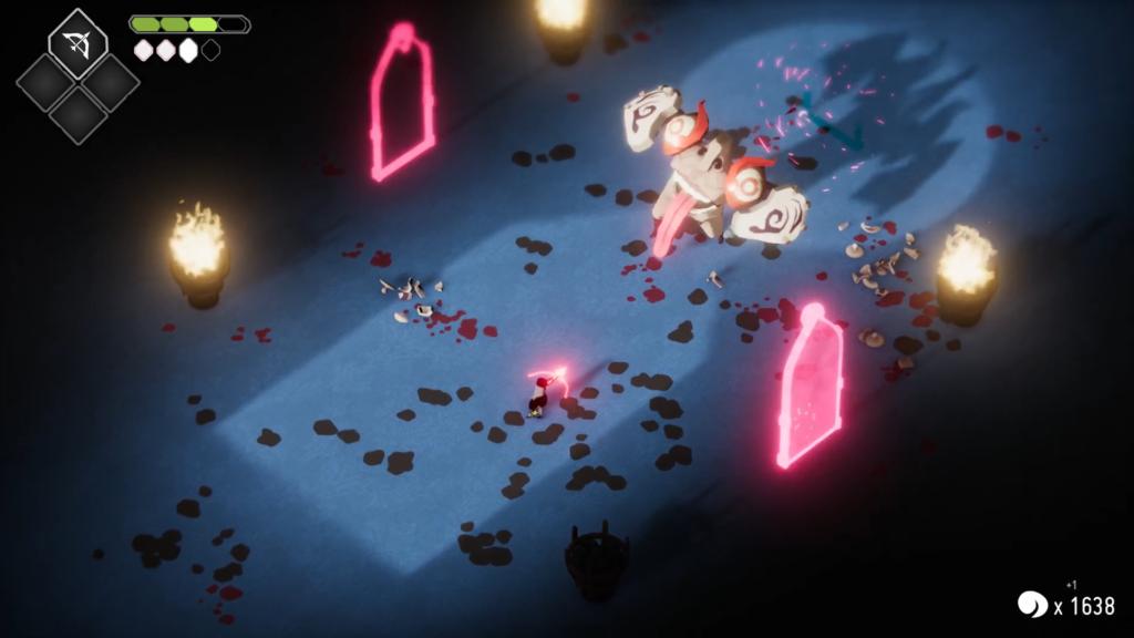 Fãs de Titan Souls reconhecerão essa área em Death's Door